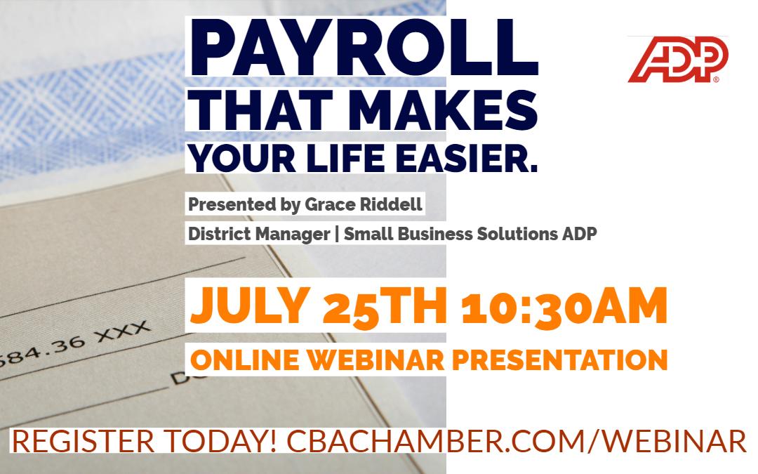 Free Payroll Webinar