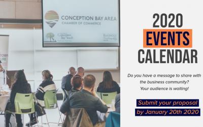 [RFP] 2020 Events Calendar