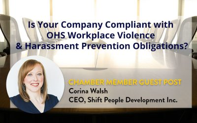 Is Your Company Compliant with OHS Workplace Violence & Harassment Prevention Obligations?