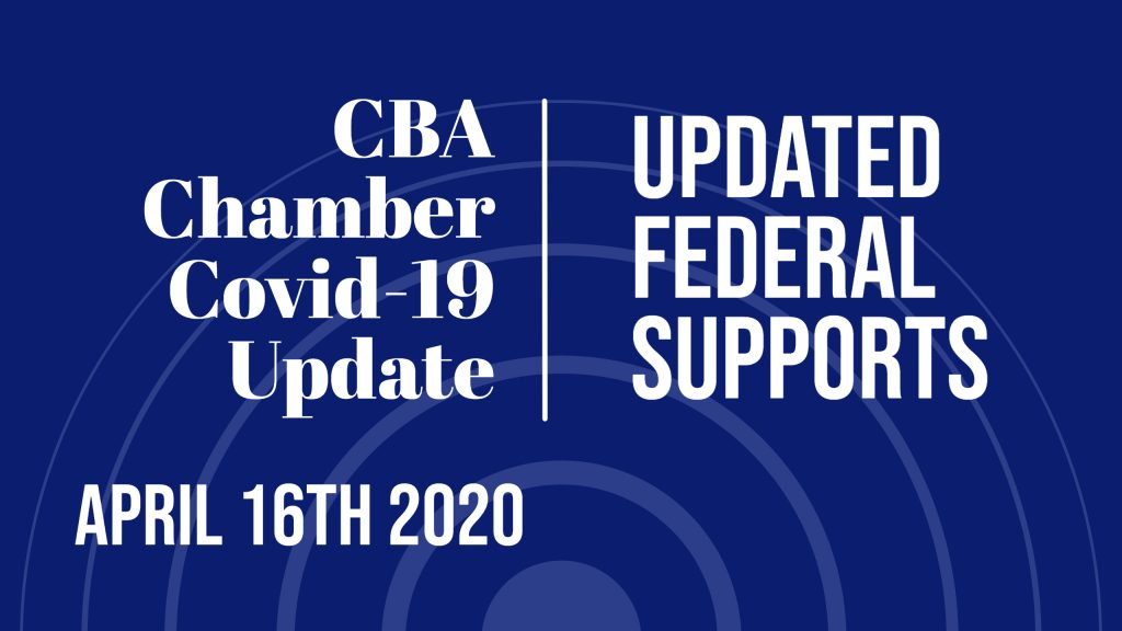 NEW Updates Federal Supports for Canadian Businesses