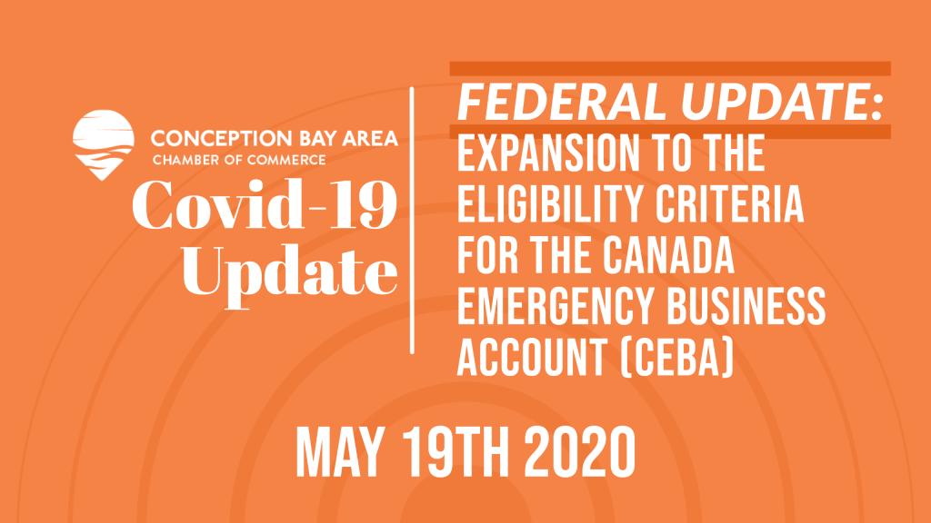 Expansion to the eligibility criteria (CEBA)