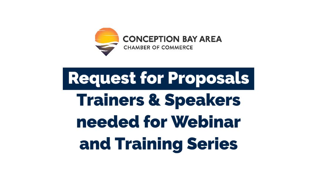 RFP – Fall/Winter Webinars & Training Sessions