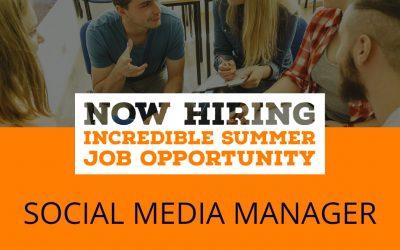 Student Summer Job: Social Media Manager